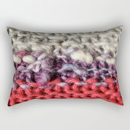 Yarn Rectangular Pillow