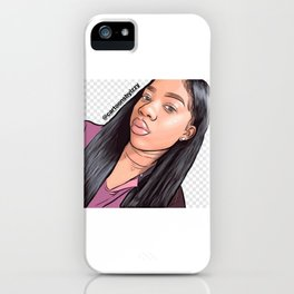 Cartoons by me iPhone Case