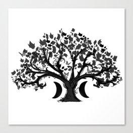 The Zen Tree Canvas Print