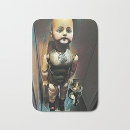 The Edison Talking Doll 1890 Bath Mat