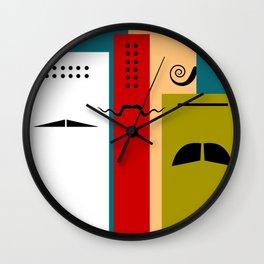 """Les Grands Chefs (della serie """"La Teoria del Colore"""") Wall Clock"""