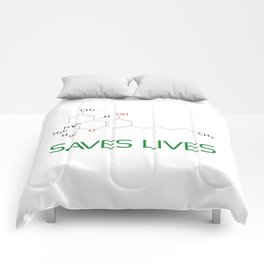 Saves Lives Comforters