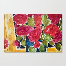 For the roses Canvas Print