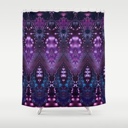 Arabian Princess Bohemian Fractal Shower Curtain