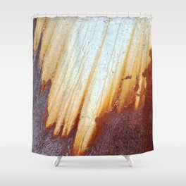 Rain Rusted Roof Shower Curtain