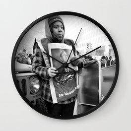 Newsgirl, 2013 Inauguration, Washington, DC. Wall Clock