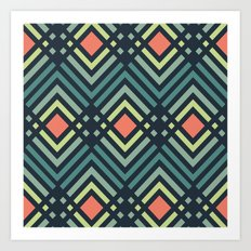 pattern series 129 Art Print