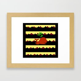 Life of a Whale Framed Art Print