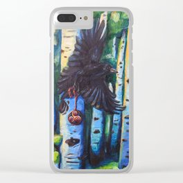 The messenger Clear iPhone Case