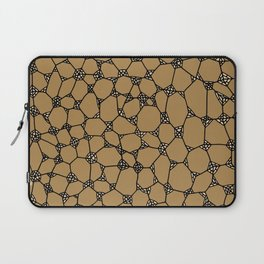 Yzor pattern 006-2 kitai beige Laptop Sleeve