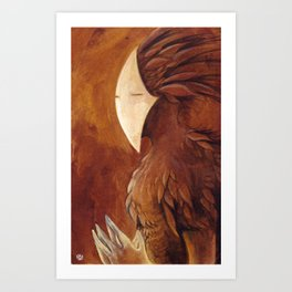 Autumn spirit Art Print