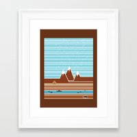 canada Framed Art Prints featuring Canada. by Grant Pearce