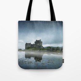 Scottish Castle Tote Bag