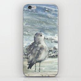 Seagull, Watercolour iPhone Skin
