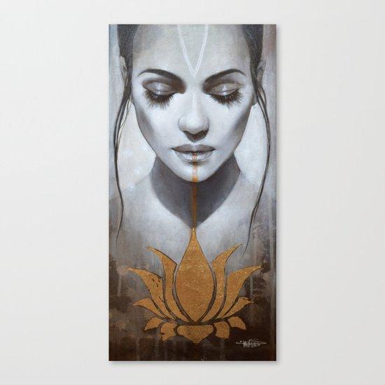 Le lotus Canvas Print