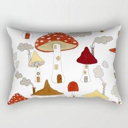 mushroom homes Rectangular Pillow