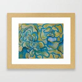 Bleeding Flowers Framed Art Print
