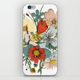 Flower Wad iPhone Skin