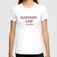 law T-shirts featuring Harvard Law by Trend