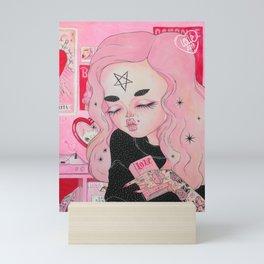 Our Lady of Broken Hearts Mini Art Print