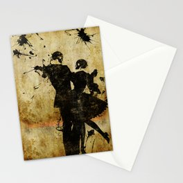 Dance With The Dead Stationery Cards