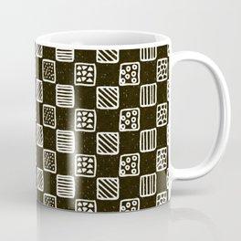 Boxed geo mish mash Coffee Mug