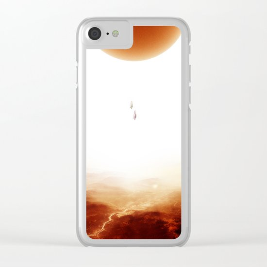 Mars Diving Clear iPhone Case