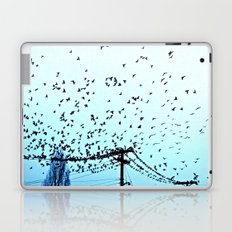 After Hours At The Wire Laptop & iPad Skin