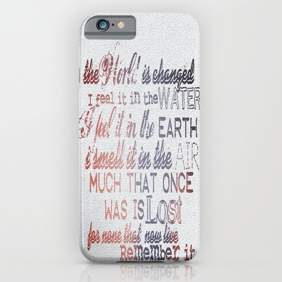 Remember it. iPhone & iPod Case