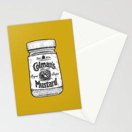 The King of Condiments Stationery Cards