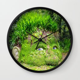 The Lost Gardens of Heligan - Giant's Head Wall Clock