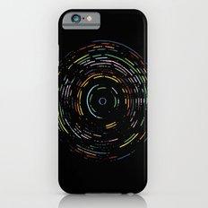 Rainbow Record on Black Slim Case iPhone 6s