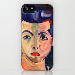 Green Stripe iPhone Case