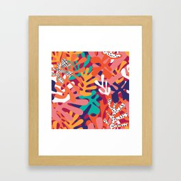 Matisse Pattern 006 Framed Art Print