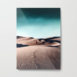 In the middle of the desert Metal Print