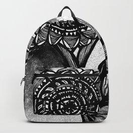 Flower Doodle Backpack