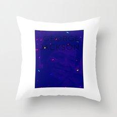 George Jackson Throw Pillow