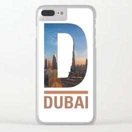 D-ubai Clear iPhone Case