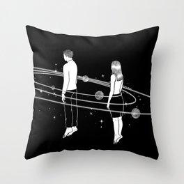 Revolve around you Throw Pillow