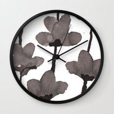 Autumn flowers 2 Wall Clock