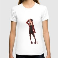 selfie T-shirts featuring Selfie by Lenore2411