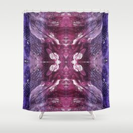 Crystal Funghi Shower Curtain