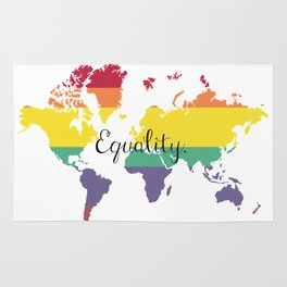 Equal world Rug