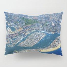 Newport Beach California Pillow Sham