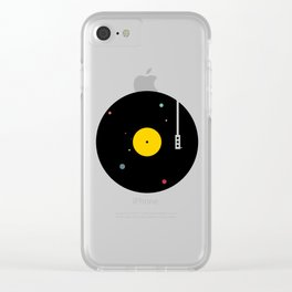 Music, Everywhere Clear iPhone Case