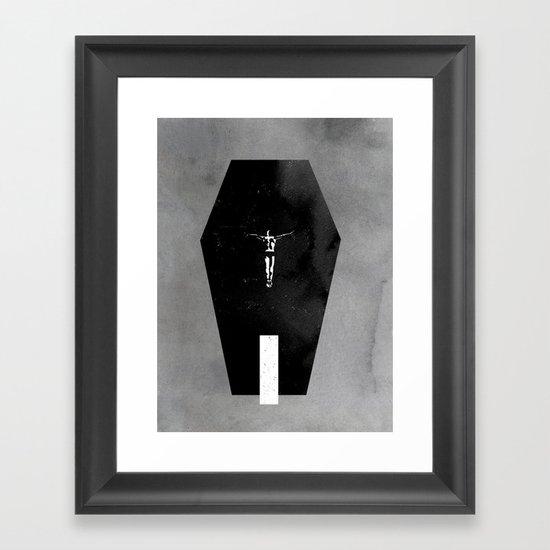 Shallow Grave Framed Art Print