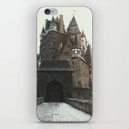 Finally, a Castle - landscape photography iPhone Skin