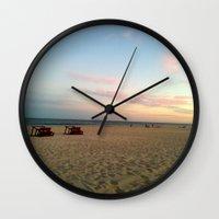 zen Wall Clocks featuring zen by Sarahpëa