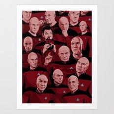Picard Day Art Print