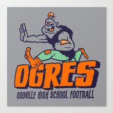 Oddville Ogres Canvas Print